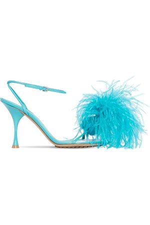 Bottega Veneta 90mm Feather Dot Sandals