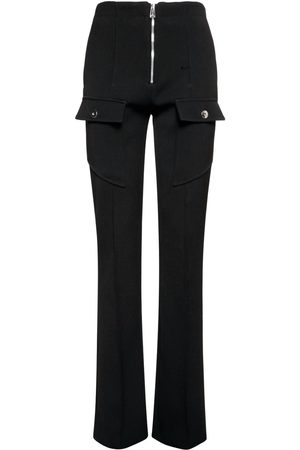 Bottega Veneta Women Formal Trousers - Stretch Double Wool Cavalry Pants