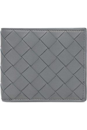 BOTTEGA VENETA Men Wallets - Intrecciato Leather Coin Wallet