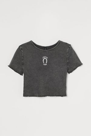 H&M Cropped top - Grey