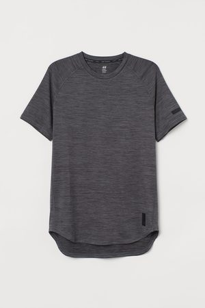 H&M Loose Fit Sports top - Grey