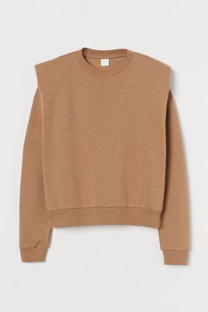 H&M Shoulder-pad sweatshirt