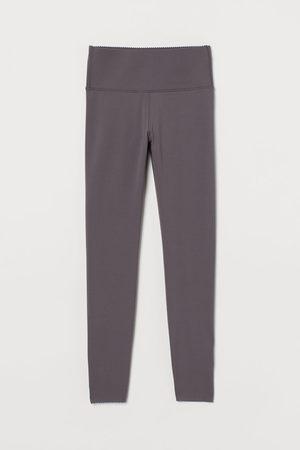 H&M High Waist Shaping tights - Grey