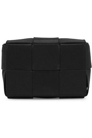 Bottega Veneta Cassette Leather Card-Case-On-Strap