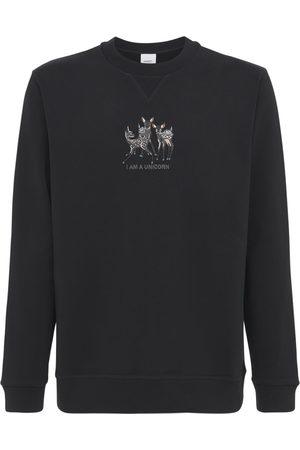 Burberry Printed Cotton Jersey Sweatshirt