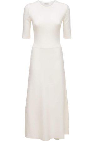 GABRIELA HEARST Lvr Sustainable Wool Blend Knit Dress