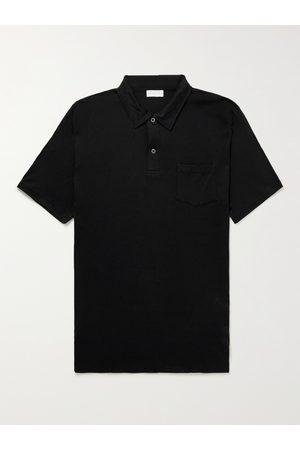 Sunspel Men Polo Shirts - Slim-Fit Sea Island Cotton-Jersey Polo Shirt