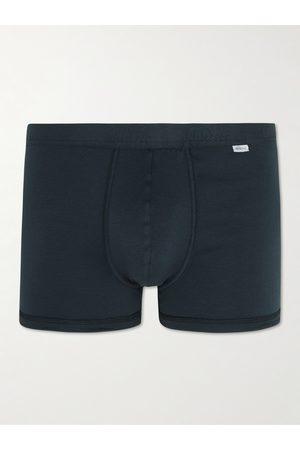Schiesser Men Briefs - Ribbed Stretch-Cotton Jersey Boxer Briefs