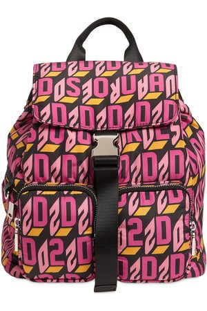 Dsquared2 Logo Monogram Nylon Backpack