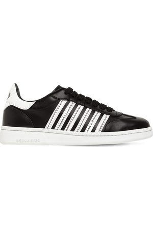Dsquared2 20mm Canadian Leather Low Top Sneakers