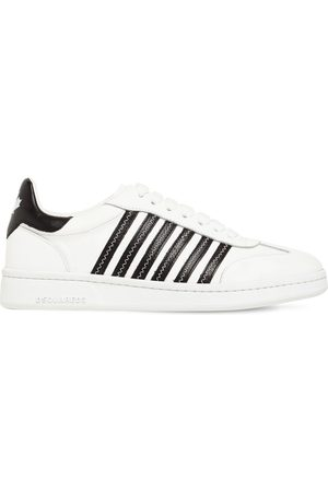 Dsquared2 Women Sneakers - 20mm Canadian Leather Low Top Sneakers