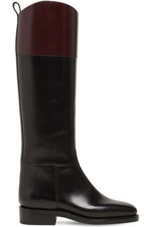 Dsquared2 Women High Leg Boots - 20mm Leather Tall Boots