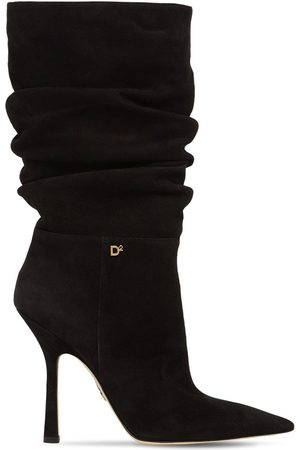 Dsquared2 100mm Suede Boots