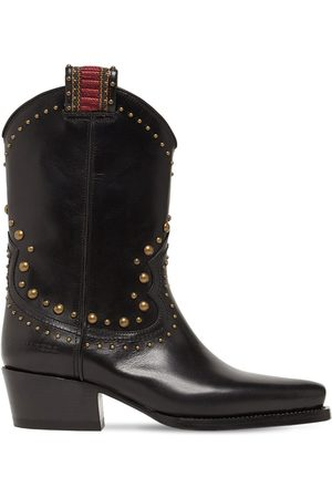 Dsquared2 50mm Western Leather Boots