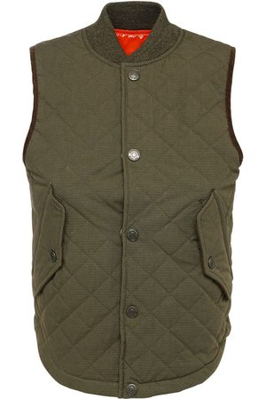 Dsquared2 Quilted Cotton Hunting Vest