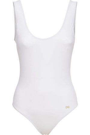 Dolce & Gabbana Logo One Piece Swimsuit