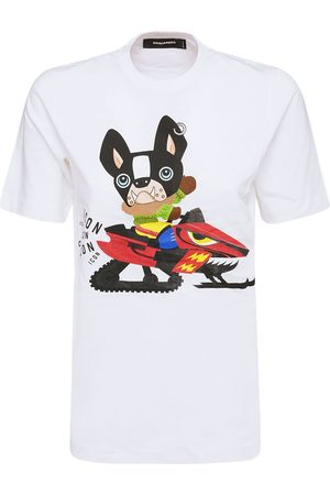 Dsquared2 Icon Patch Cotton Jersey T-shirt
