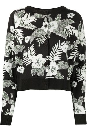 Barrie Women Cardigans - Floral knit cardigan