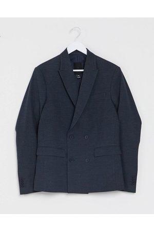 New Look Men Blazers - Slim double breasted suit jacket in
