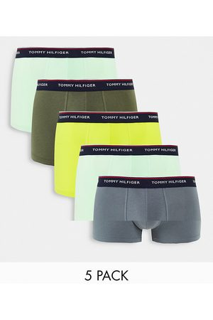 Tommy Hilfiger 5 pack trunks with logo waistband in