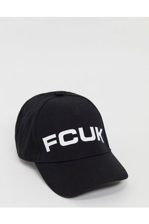 French Connection Cap in white and