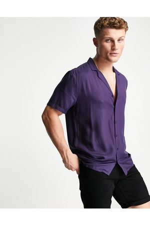 New Look Men Short sleeves - Co-ord short sleeve shirt with revere collar