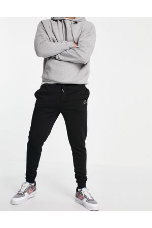 River Island Script muscle fit joggers in