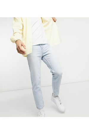 New Look Slim cropped jeans in light wash
