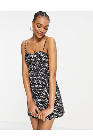 French Connection Mini dress in ditsy print