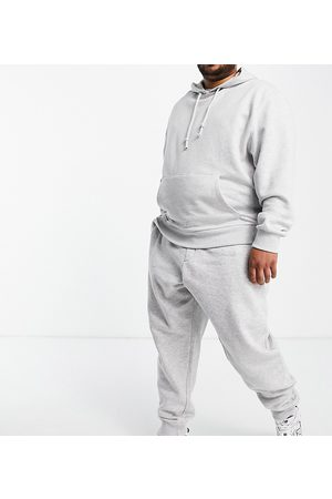 French Connection Plus Essentials jogger in slim fit in light melange