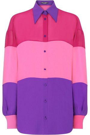 Dolce & Gabbana Colour-block panelled shirt