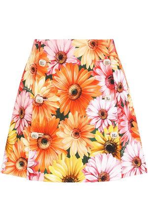 Dolce & Gabbana Women Printed Skirts - Floral-print A-line skirt
