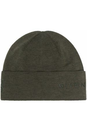 Givenchy Logo-embroidered beanie