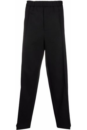 Jil Sander Men Trousers - Press-crease relaxed fit trousers