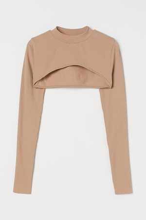 H&M Seamless cropped top