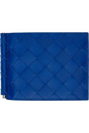 Men Wallets - Bottega Veneta Intrecciato Bill Clip Bifold Wallet