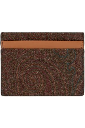 Etro Classic Book Paisley Card Holder