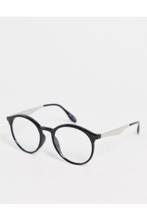 Jeepers Peepers Unisex round blue light glasses in
