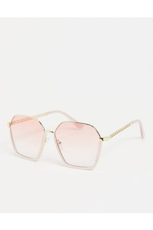 Jeepers Peepers Womens square sunglasses in