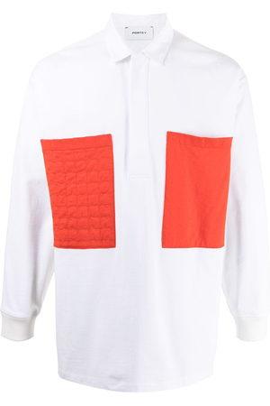 Ports V Polo Shirts - Contrasting pocket polo shirt