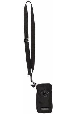 VERSACE Men Wallets - Medusa Head phone pouch