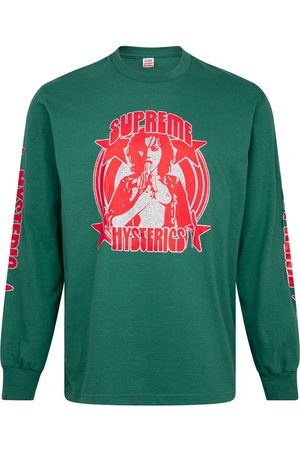 Supreme Long Sleeve - X Hysteric Glamour long-sleeve T-shirt