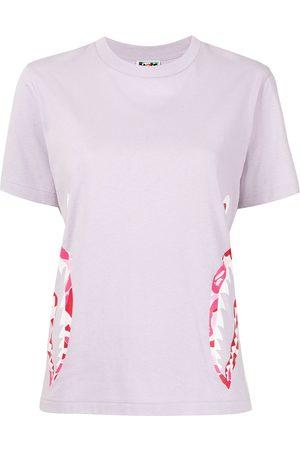A Bathing Ape ABC Camo Side Shark T-shirt