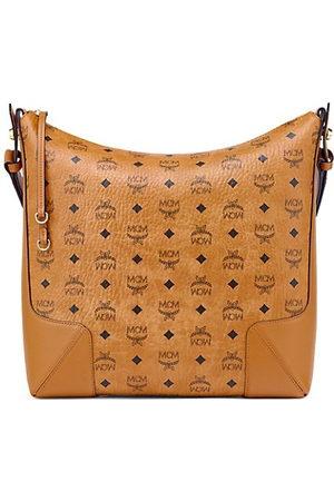 MCM Women Handbags - Klara Monogram Visetos Hobo Bag