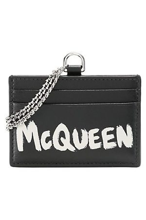 McQ Wallets - Chain Leather Card Holder