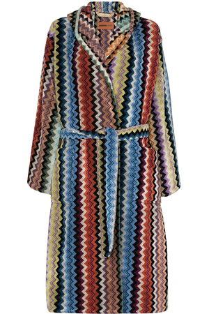 Missoni Women Bathrobes - Adam hooded belted robe