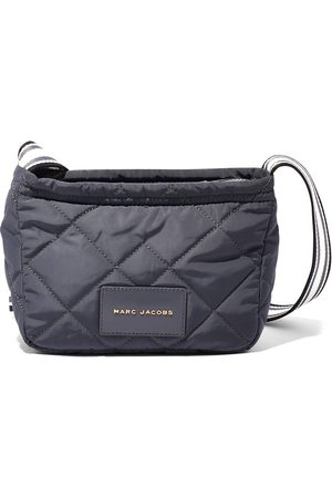 Marc Jacobs Logo patch quilted messenger bag