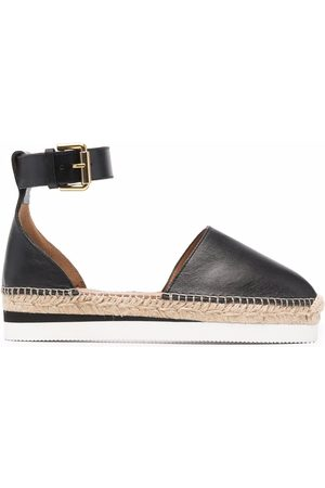 See by Chloé Glyn leather flat espadrilles