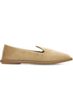MAX MARA Women Loafers - 10mm Flo Cashmere Loafers