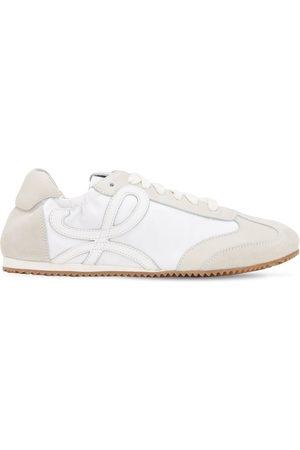 Loewe 10mm Ballet Suede & Nylon Sneakers